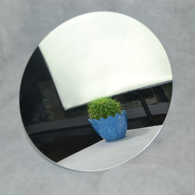 Акриловые круглые Зеркала Пластик PMMA Pier Стекло отель декоративные линзы не легко сломанной (13 шт./лот) диаметр 400x2 мм