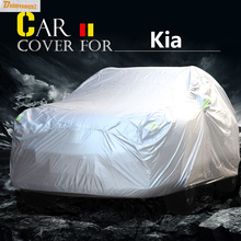 Buildreamen2 Car Cover Anti UV Sun Snow Rain Scratch Dust Resistant Waterproof Cover For Kia Venga