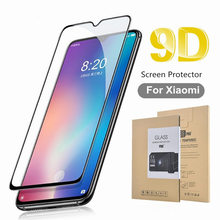 9D Tempered Glass For Xiaomi 6 8 Pro 9 SE Note 3 8lite Pocophone F1 5X A1 6X A2 lite Full Cover Screen Protector retail package