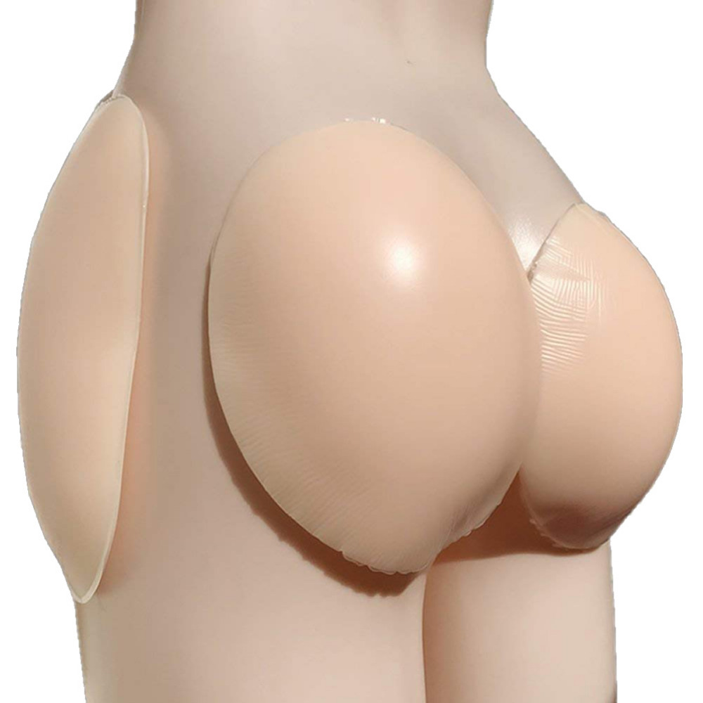 Sexy Hip Pads Self adhesive Silicone Hip Pad 4 Pieces Include Buttock Lifter Ajusen Hip enhancer