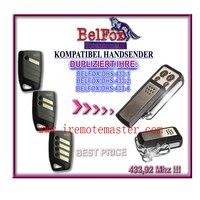 Controle remoto compatível para BELFOX DHS 433 1  DHS 433 2  DHS 433 4 frete grátis controle remoto da porta da garagem|Controle remoto p/ portão| |  -