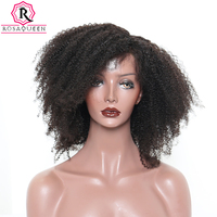 250% Density Afro Kinky Curly 13x4 Lace Front Human Hair Wigs For Women Dolago Brazilian Remy Lace Frontal Wigs Pre Plucked