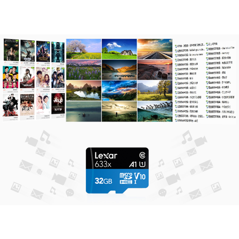 Image 3 - Lexar Memory SD Card Adapter Micro SD Card Reader TF Card Case 16GB 32GB 64GB 128GB 256GB 512GB A2 U3 C10 V30 633x Flash Card-in Micro SD Cards from Computer & Office