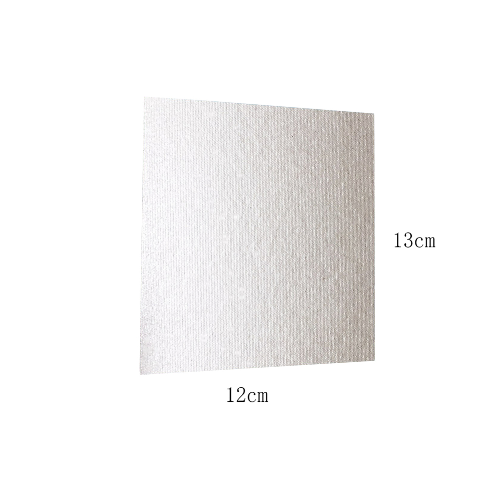 BLFY 4pcs Microwave Oven Repairing Part Mica Plates Sheets 13cm x 13cm