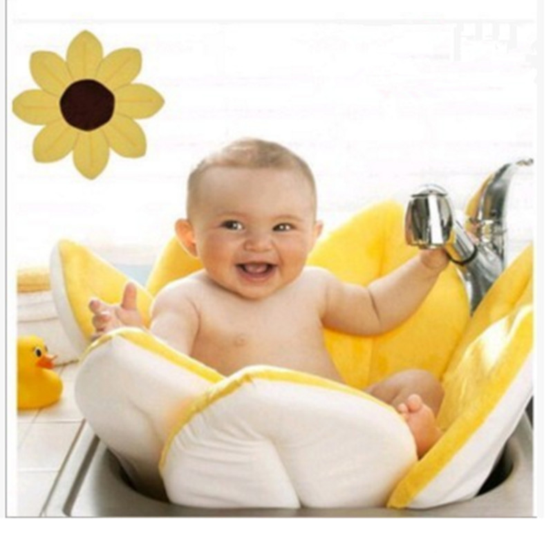 80 * 80cm Baby Multicolor Bath Cushion PP Cotton Baby Bath Cushion ...