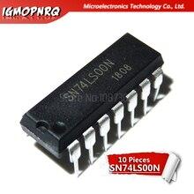 10pcs HD74LS00P HD74LS00 SN74LS00N 74LS00 DIP ใหม่เดิม