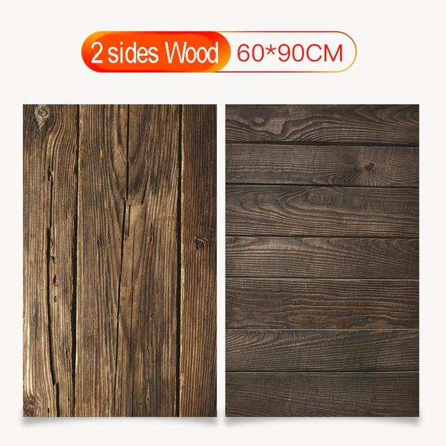 60X90cm PVC doppi lati fondali fotografia impermeabile Premium marmo Texture sfondo per foto cibo gioielli Mini articoli 2