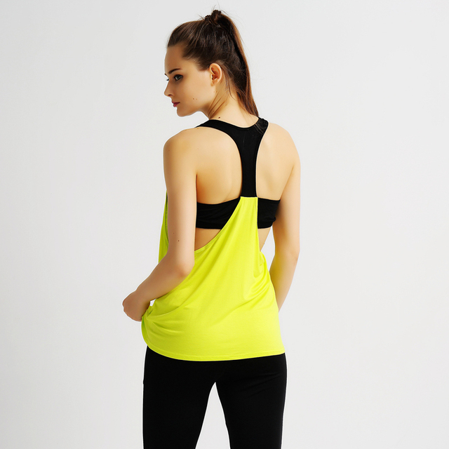 Sports Top with Contrasting Straps