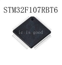 5PCS STM32F107RBT STM32F107RBT6 QFP-64 New original