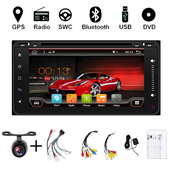 Android 10 Car Audio DVD Player For TOYOTA RAV4 2001-2008 COROLLA 2000-2006 GPS Multimedia Head Device Unit Receiver BT WIFI image