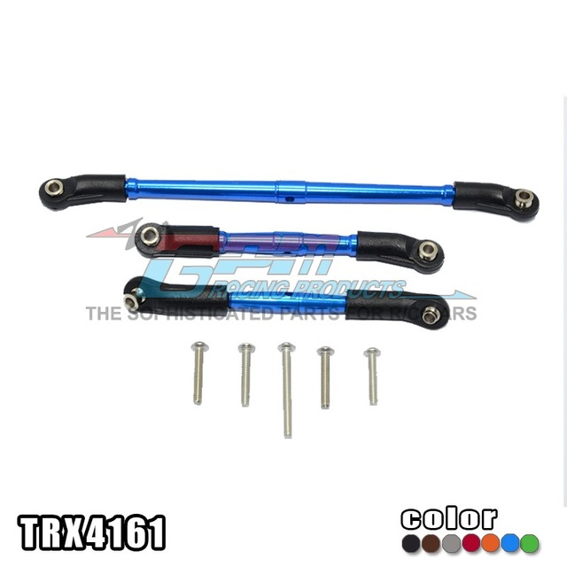 TRAXXAS TRX-4 82056-4 Aluminum alloy positive and negative teeth adjustable front turn + support rod TRX4161
