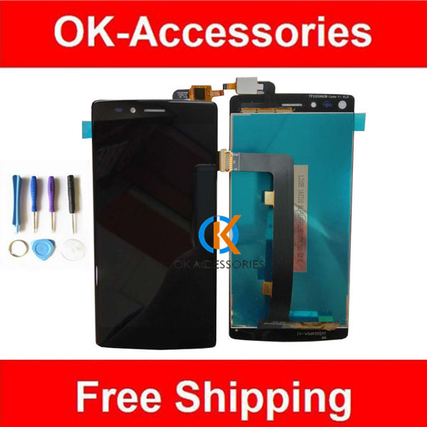 1PC/Lot Black Color For Vernee Apollo Lite LCD Display +Touch Digitizer Screen Assembly With Tools  vernee apollo x lcd display touch screen digitizer frame assembly 100
