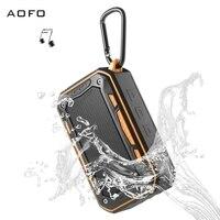 AOFO High Quality Audio Outdoor Hifi DJ Bass Speaker Music Mini Power Bank Wireless Portable Waterproof Bluetooth Speakers