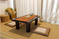 Asian Wood Furniture Chinese Tea Table Rectangle Living Room Furniture Oriental Design Low Floor Kung Fu Coffee Tea Table Wooden