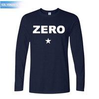 Fall Fashion Printing Zero Rock And Roll Band O Neck T Shirt Heavy Metal Music Jersey