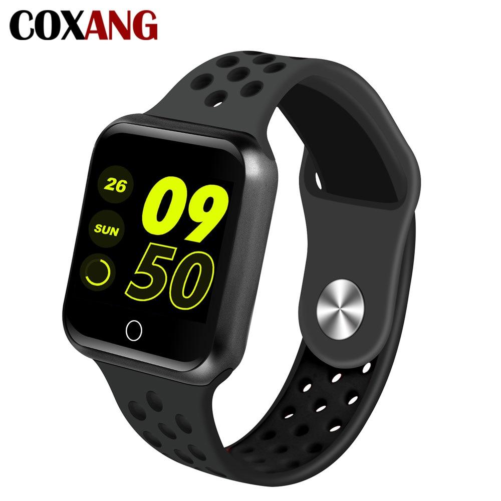 COXANG S226 montres intelligentes moniteur de fréquence cardiaque mesure de la pression artérielle Smartwatch passomètre traqueur d'activité pour Apple Android