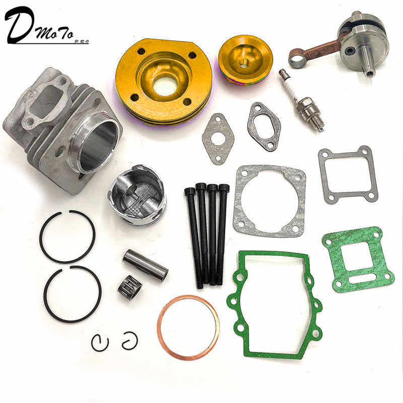 Ad Alte Prestazioni 44mm Grande Foro Superiore del Kit 49cc 2 Tempi Mini ATV Quad Dirt Pocket Bike Nuovo