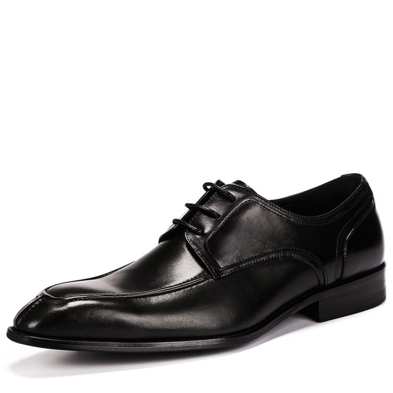 Fashion 2019 Retro Business Mens Pointy Shoes Oxfords Brand Luxury Shoes Men Genuine Leather Men Dress Shoes Chaussures hommesFashion 2019 Retro Business Mens Pointy Shoes Oxfords Brand Luxury Shoes Men Genuine Leather Men Dress Shoes Chaussures hommes