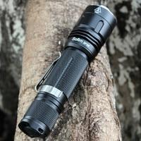 SF36 Tactical LED Flashlight 18650 Cree XPL2 V6 1100 Lumens Powerful Military Torch Light Waterproof Bike