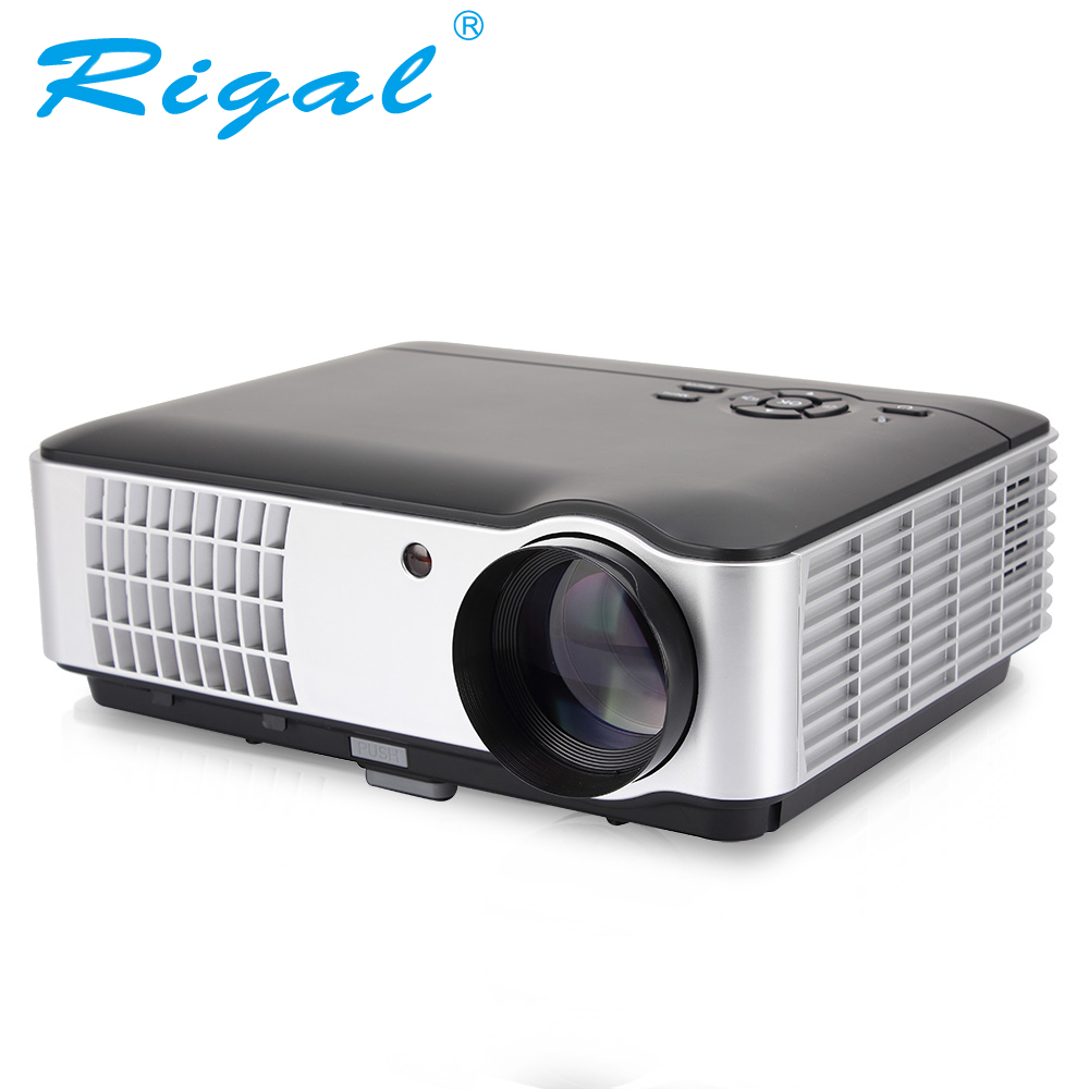 Rigal Projecteur RD806A projecteur led Android 6.0 WIFI 5000 Lumen Beamer 3D 720 P Portable Home Cinéma HD Projecteur RD806 RD-806