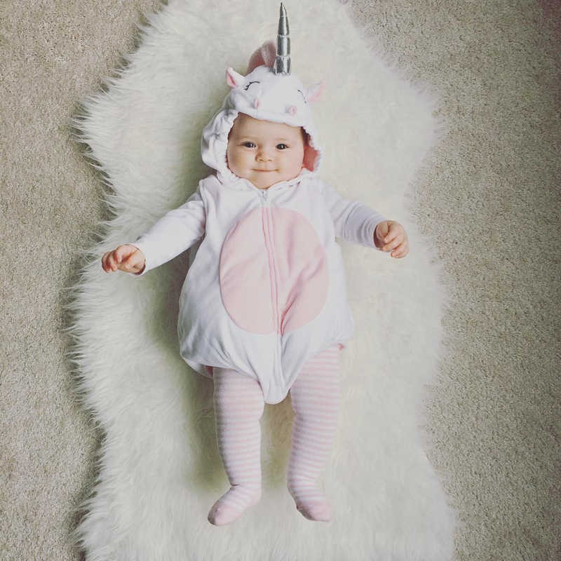 44f931d32 Detail Feedback Questions about 3D Unicorn Baby Costume Girls Romper ...