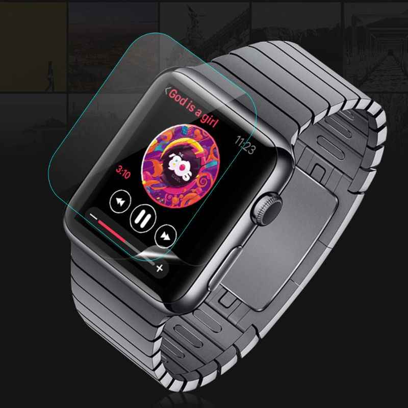 2.5D 9H HD Ultra-thin Tempered Glass Screen Protective Film For Apple Watch 4