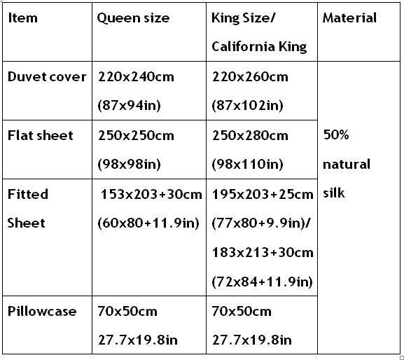 Letto Queen Size Misure.Aqua Silk Bedding Set Green Blue Satin Super King Size Queen Full