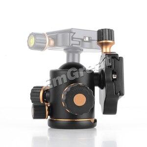 Image 3 - بيرجير TH3 برو كرة ثلاثية الرأس 8 كجم قدرة التحميل 360 درجة الدورية بانورامية ل Monopod DSLR كاميرا بناء المعادن جودة