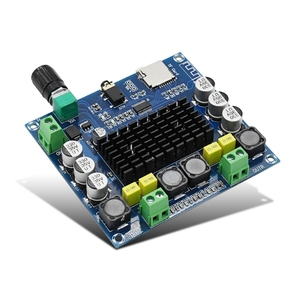 Image 4 - Bluetooth 4.1 TPA3116 50W x2 digitale versterker board 2.0 Stereo AMP Module Ondersteuning TF Card AUX XH A104