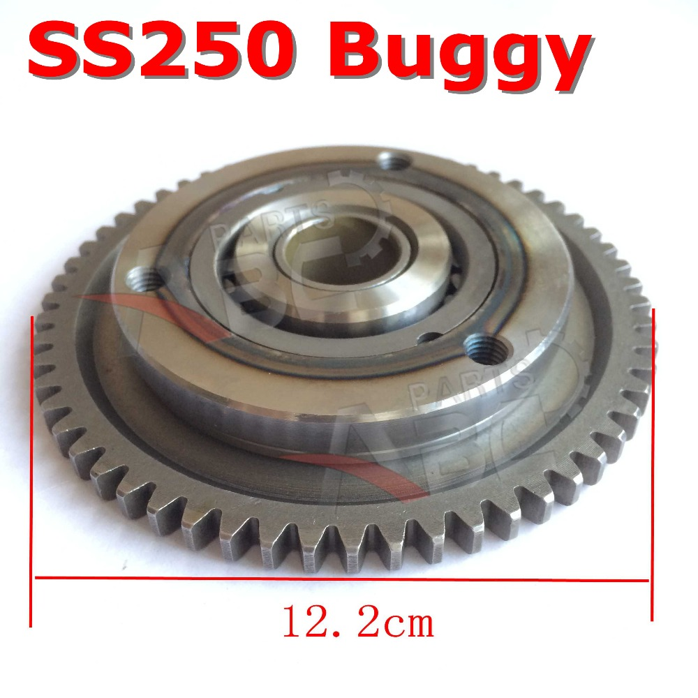 US $16 99 |PARTSABCD 250CC Starter Clutch Assy For HAMMERHEAD SS250 GO KART  BUGGY PARTS-in ATV Parts & Accessories from Automobiles & Motorcycles on