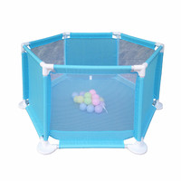 Baby Playpens Children Safety Arena Playing Yard Balls Included