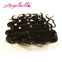 Angelball Brazilian 13*4 Ear To Ear Lace Frontal Closure Hair Lace Closures 100% Human Virgin Hair