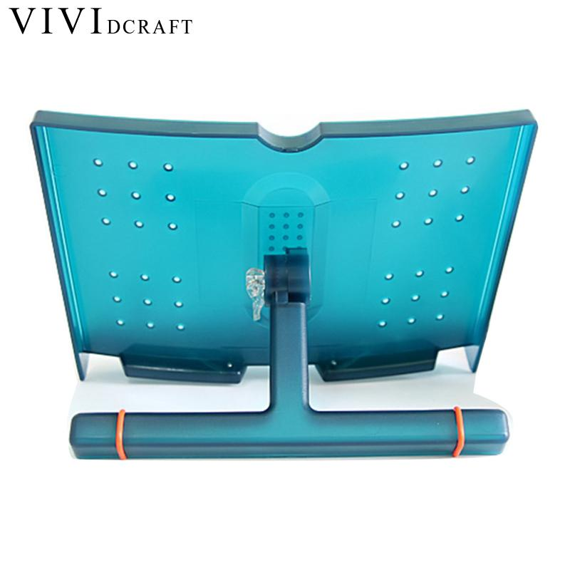 Vividcraft High Quality Adjustable Folding Tablet Book Holder For Reading Decorative Bookends Office Desk Holder Tilt Bookstand vividcraft 1pc portable adjustable folding tablet book holder for reading decorative bookends office desk holder tilt bookstand