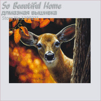 5D Diy diamond embroidery painting Deer diamond mosaic Needlework Diy Cross Stitch Craft Home Decor SF6390