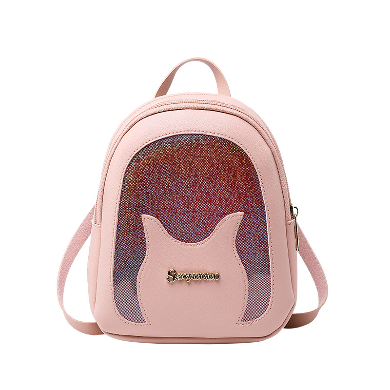Women Backpack Mini Soft Leather Multi-Function Small Backpacks Female Fashion Bagpack For Ladies 2019 Shoulder Bag Girl