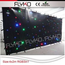 Free shipping 2M *4M rgb led starlit curtain with controller system & Popular Starlite Lighting-Buy Cheap Starlite Lighting lots from ...