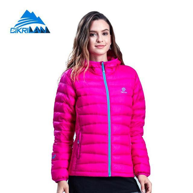 e65e021cc US $61.99 |New Winter Ultra Light Puffer Duck Down Parka Coat Leisure  Sports Outdoor Jacket Women Climbing Hiking Camping Jaqueta Feminina on ...