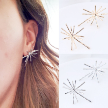 Sale Alloy Flower Graceful Earrings For Women Wedding High Quality Beautiful Gold Tassel Earring Gifts graceful alloy faux feather necklace for women