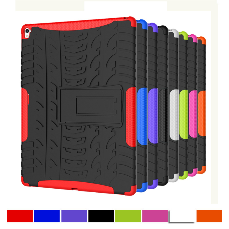 KEFO For Apple iPad Pro 9.7 Retina Kids Safe Armor Shockproof Heavy Duty Silicone Hard C ...