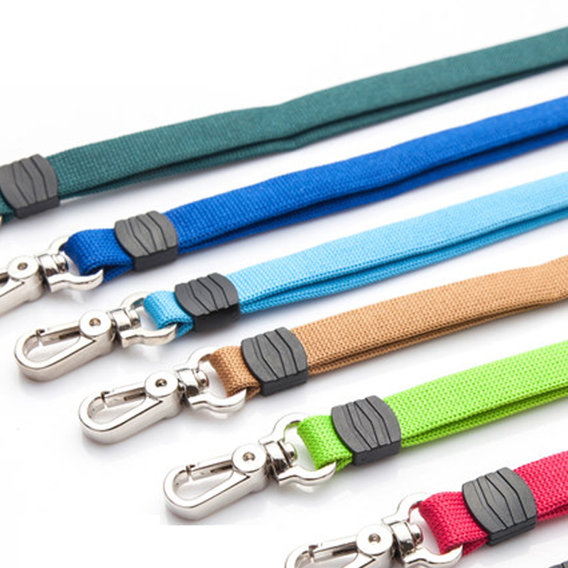 7 colors beautiful and durable whistle accessories lanyard 10mm*485mm