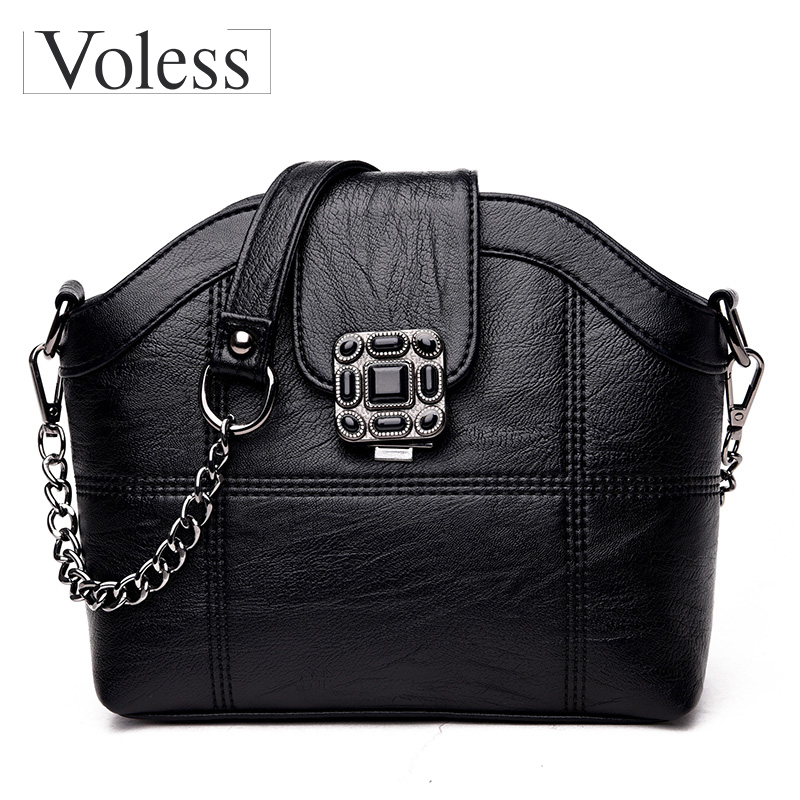 Fashion Shell Shoulder Bags PU Leather Bags For Women Chains Crossbody Bags For Women Designer High Quality Messenger Bag high tech and fashion electric product shell plastic mold