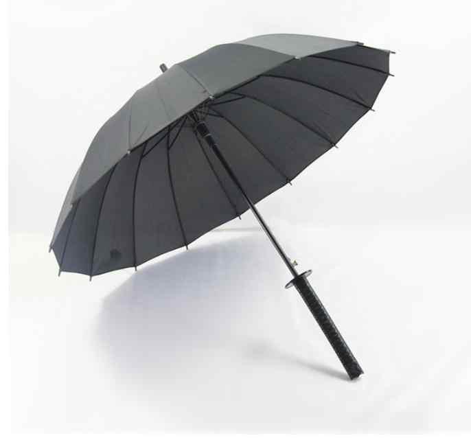 Бесплатная Доставка 30 шт./лот японские Самурайские Мячи зонтик зонтики в форме катаны Зонты SN1419