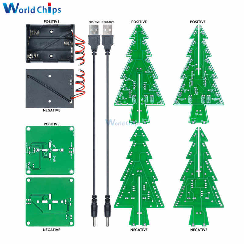 Detail Feedback Questions About 3d Christmas Tree Diy Kits 7 Colors