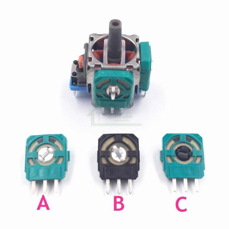 E house 500pcs 3D Analog 3D จอยสติ๊ก Micro Switch แกน Resistors สำหรับ Playstation 4 PS4 Controller Thumbstick analog-ใน ชิ้นส่วนและอุปกรณ์เสริมสำหรับเปลี่ยน จาก อุปกรณ์อิเล็กทรอนิกส์ บน AliExpress - 11.11_สิบเอ็ด สิบเอ็ดวันคนโสด 1