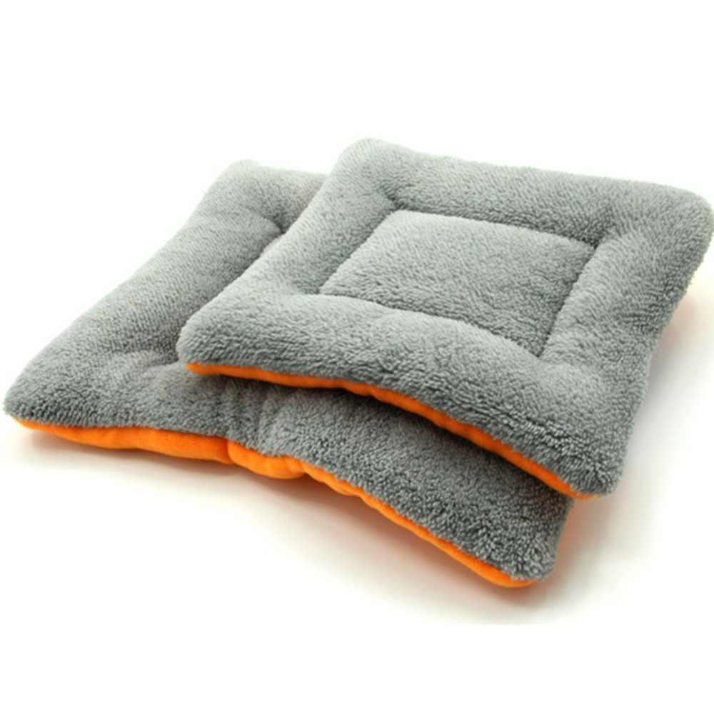وسادة ناعمة للكلب والقط من KEMISIDI سرير نوم بيت بيت دافئ سميك للحيوان الأليف وسادة للفراش أريكة للكلاب الصغيرة والمتوسطة S-XL
