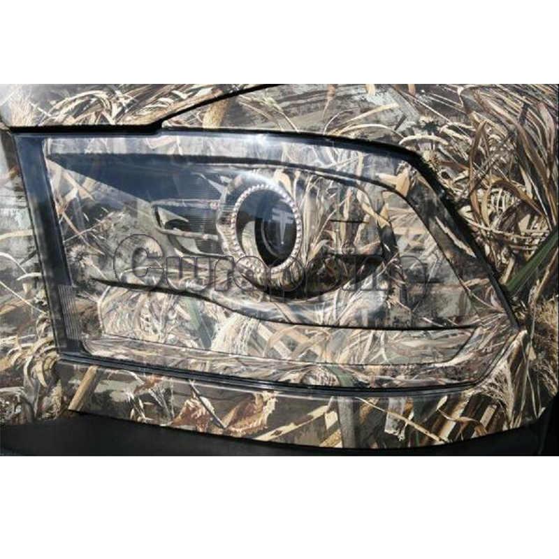 Виниловая лента для теней, лезвия для травы, графический камуфляжный рисунок, рисунок травы, камуфляжный стиль, для грузовиков, охотников, крыш, капот