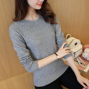 Image 3 - OHCLOTHING เสื้อกันหนาวหญิงหญิง Pullovers ฤดูใบไม้ผลิ 2019 สไตล์ใหม่ Slim เสื้อกันหนาวแขนยาวและ Slim สไตล์