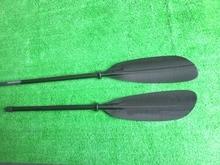 Carbon paddle, WNNER Sea Kayak Paddle Oval Shaft 10cm length adjustment and Free bag-Q33-wnner scola