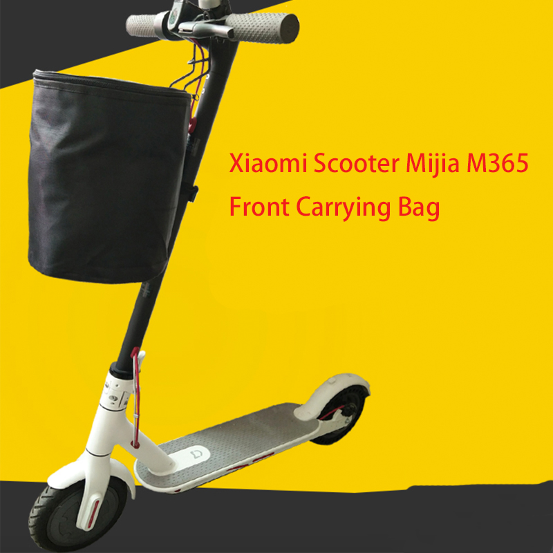 Electric Scooter Carry Front Saddle Pet Bag Basket For