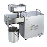 The high quality wholesale price made in China high oil yield food grade stainless steel cold manual oil press machine for sale